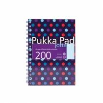 Kołozeszyt A5/200 linia Pukka Pad Jotta Dots