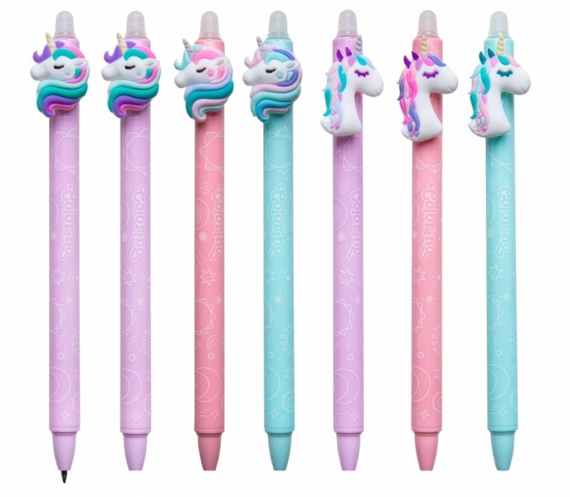 Długopis wymazywalny Unicorn Colorino