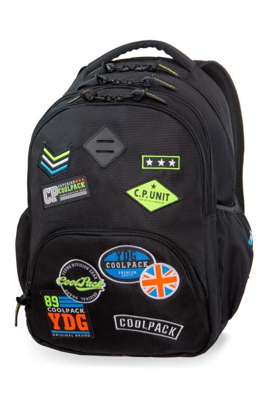 Plecak młodzieżowy CoolPack Bentley Black