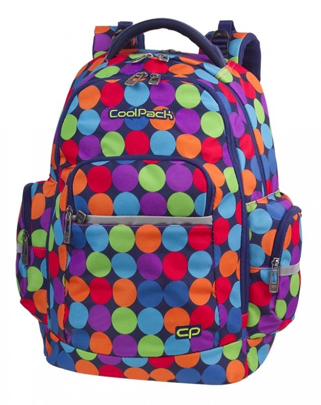 Plecak młodzieżowy  Coolpack Brick Bubble  Shooter A491