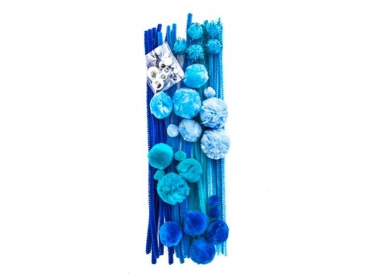 Zestaw startowy kreatywny niebieski  A`80 Dalprint
