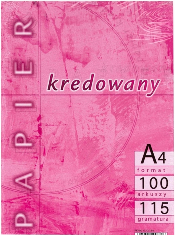 Papier kredowany A4/115g (100szt)