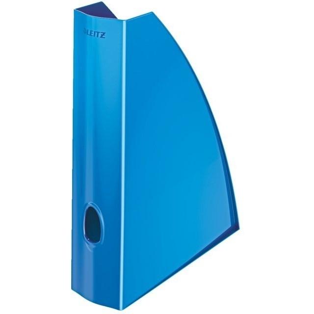 Pojemnik na dokumenty niebieski metalik Leitz Wow