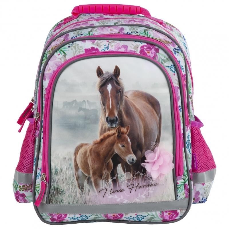 Plecak szkolny Konie 15B 18  Derform