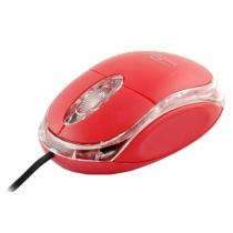 Myszka przewodowa optyczna Titanum RAPTOR 3D USB TM102B Czerwona
