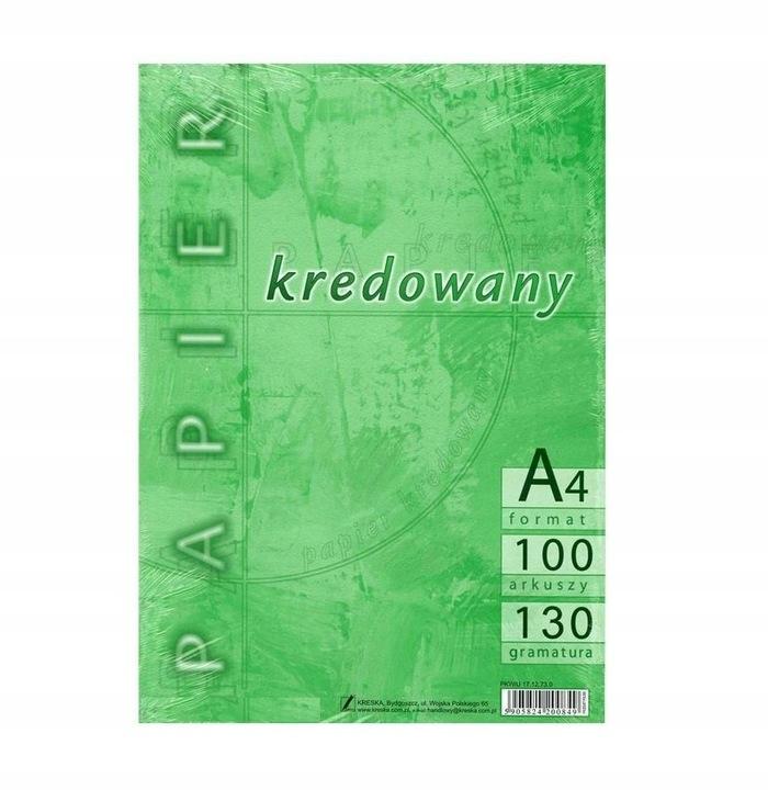 Papier kredowany A4/130g (100szt)