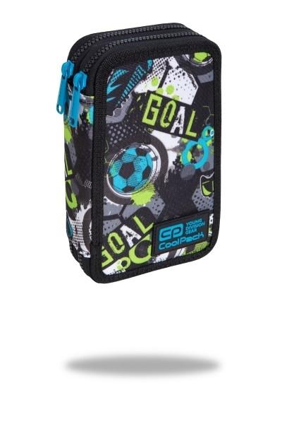Piórnik podw. z wyp.Coolpack Jumper 2 Football