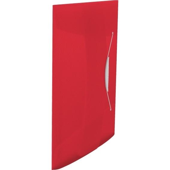 Teczka z gumką Esselte Vivida 15mm czerwona