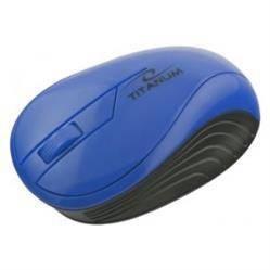 Myszka bezprzewodowa optyczna Titanum NEON 3D USB TM115B Granatowa