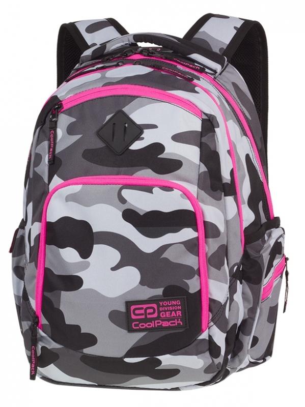 Plecak młodzieżowy Coolpack Break Camo Pink Neon A356