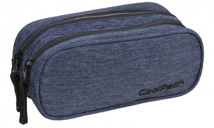 Saszetka podwójna Coolpack Clever Snow Blue A324