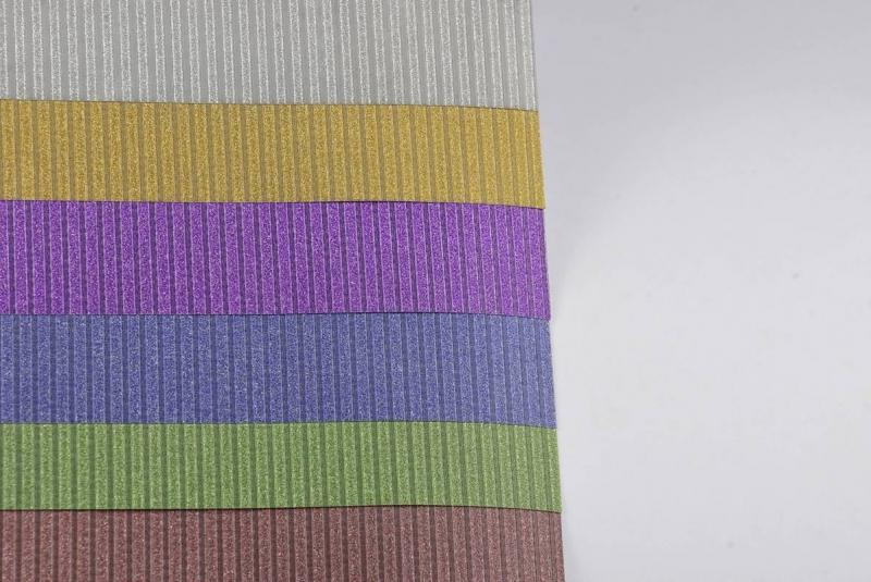 Wycinanka A4 brokatowa Strips