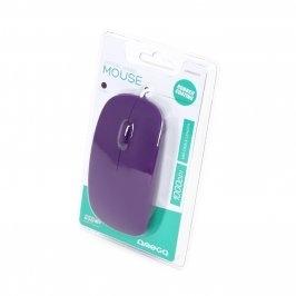 Mysz Omega 1000 DPI om414 fioletowa