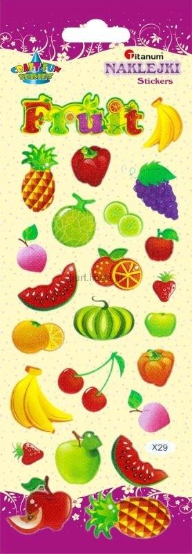 Naklejki dekoracyjne owoce