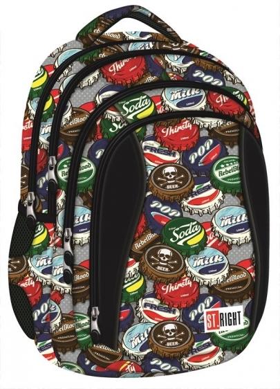 Plecak młodzieżowy St.Right Botlle Caps BP4