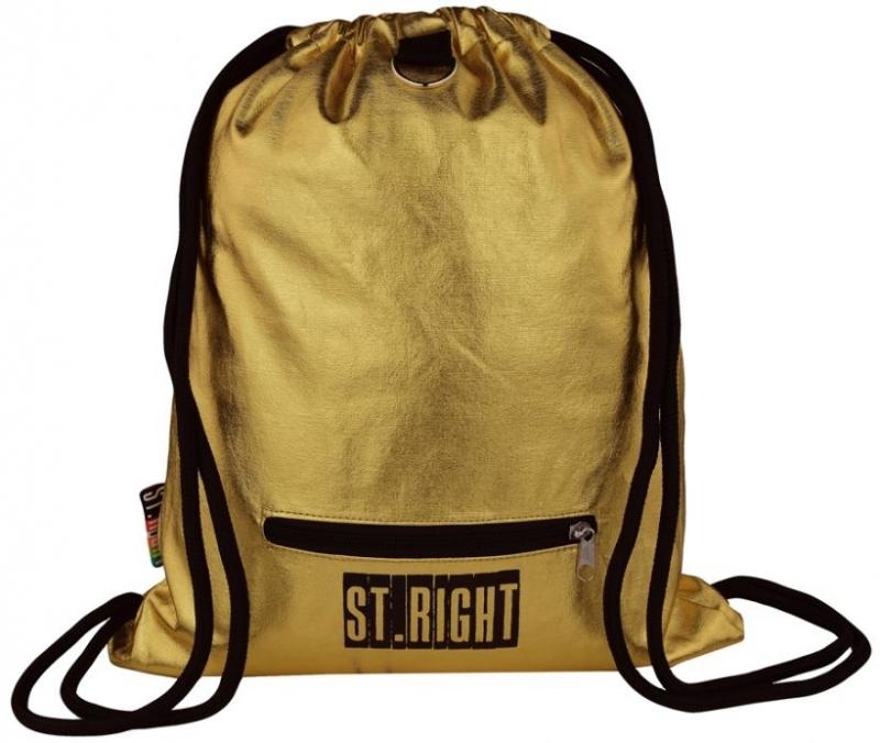 Plecak na sznurkach St.Right Gold  S011