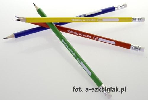 Ołówek do nauki pisania trójkątny Colorino