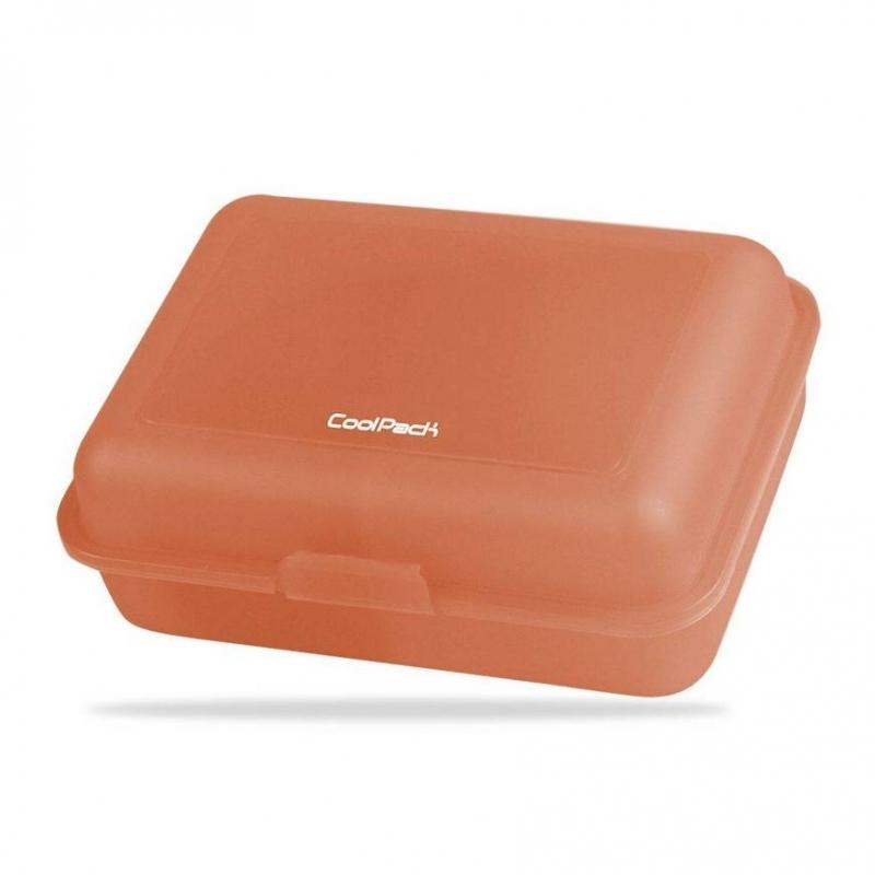 Śniadaniówka Coolpack Frozen transpare.pomarańczow