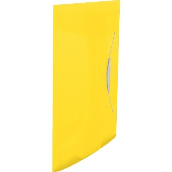 Teczka z gumką Esselte Vivida 15mm żółta