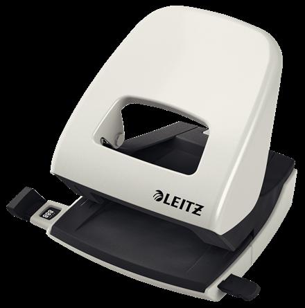 Dziurkacz biurowy Leitz 5008 Nexxt 30 kartek szary