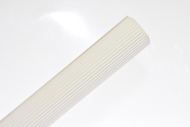 Tektura falista biała 50x70cm w rolce Schemat