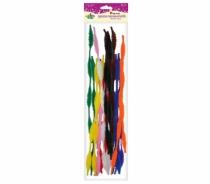 Druciki kreatywne fala mix kolor 0,6x30cm 20szt
