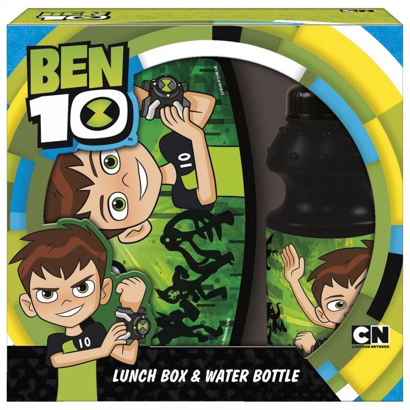 Zestaw śniadaniowy Ben10 10 bidon+śniadaniówka