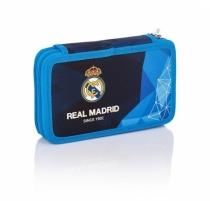 Piórnik podwój z wyposażeniem Real Madrid RM-84