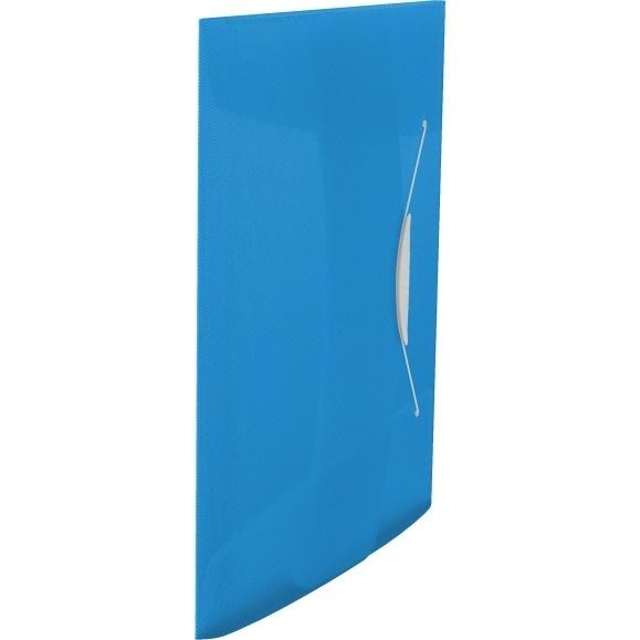Teczka z gumką Esselte Vivida 15mm niebieska