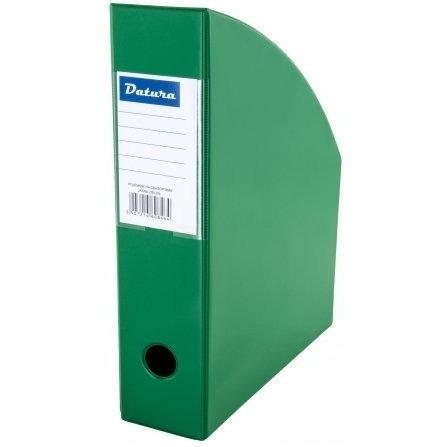 Pojemnik na czasopisma A4 7cm zielony PCV Datura/Natuna