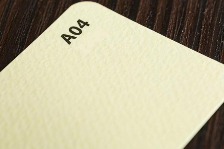 Papier wizytówkowy kremowy młotek A4 op20szt 246g