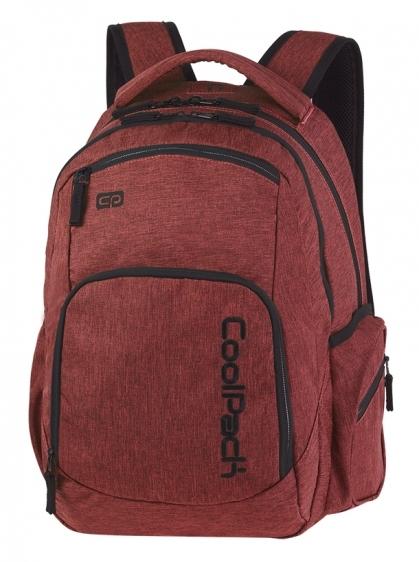 Plecak młodzieżowy Coolpack Break Snow Burgndy A336