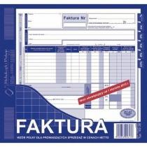 Faktura VAT 2/3 A4 NOWE STAWKI VAT