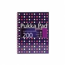 Kołozeszyt A4/200 kratka Pukka Pad Jotta Dots