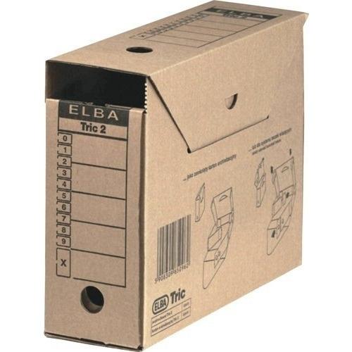 Pudło archiwizacyjne na teczki wiszące TRIC2 ELBA