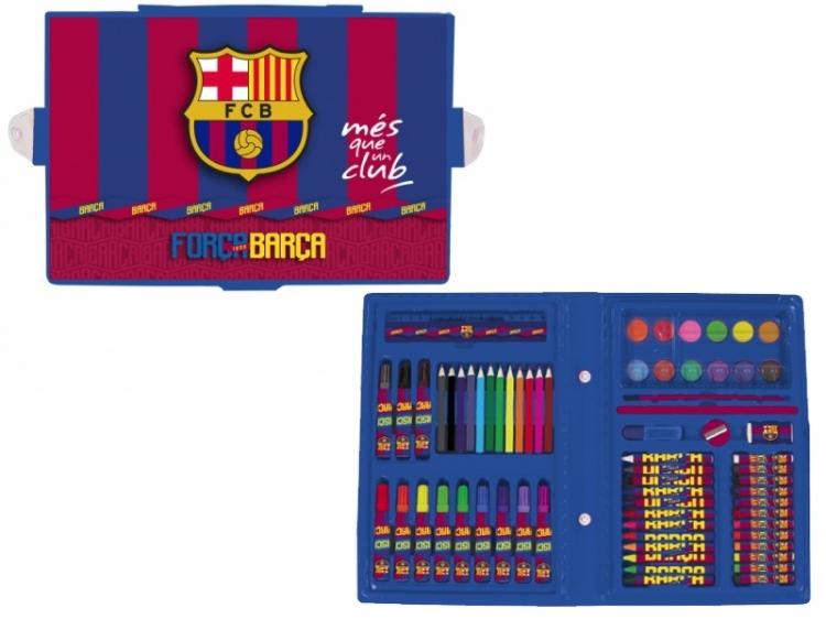 Zestaw artystyczny 71 elementów FC Barcelona