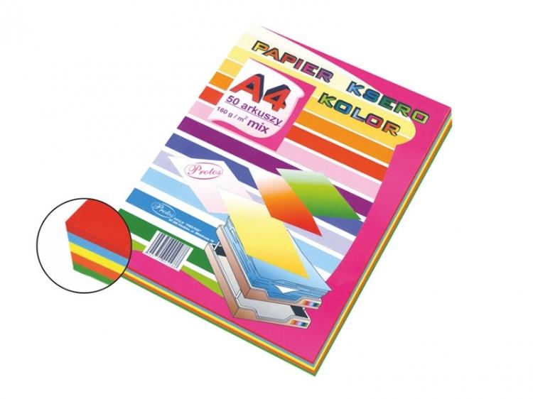 Papier ksero mix intensywny A4/50 160g