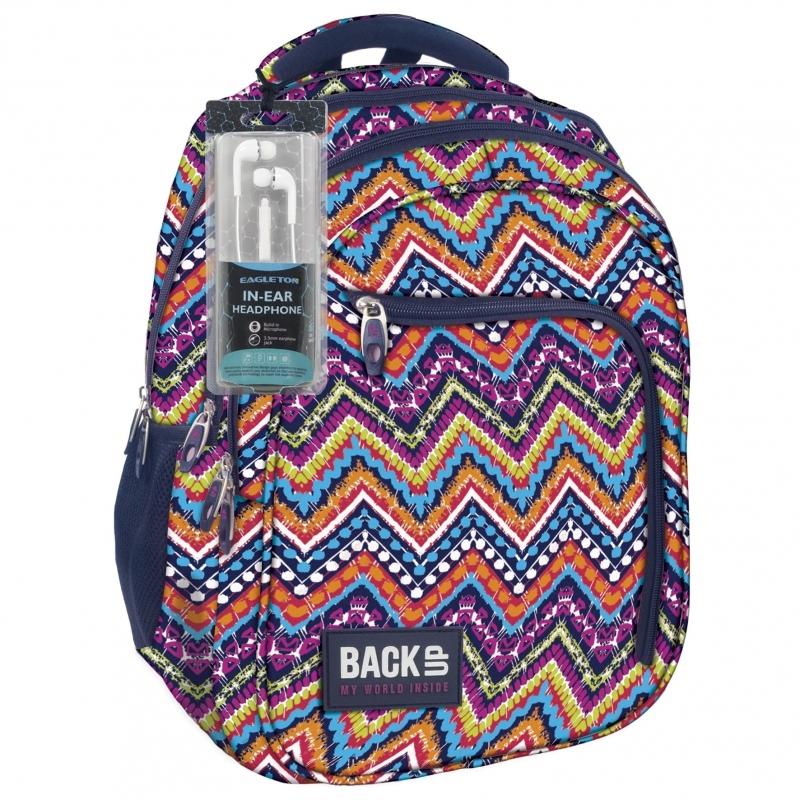 Plecak młodzieżowy BackUP model D35