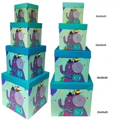 Pudełko Składane SŁOŃ 11'