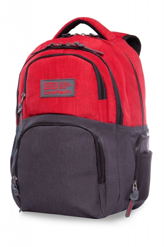 Plecak młodzieżowy Coolpack Aero Melange Red