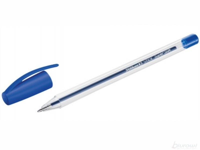 Długopis Stick Super Soft niebieski Pelikan