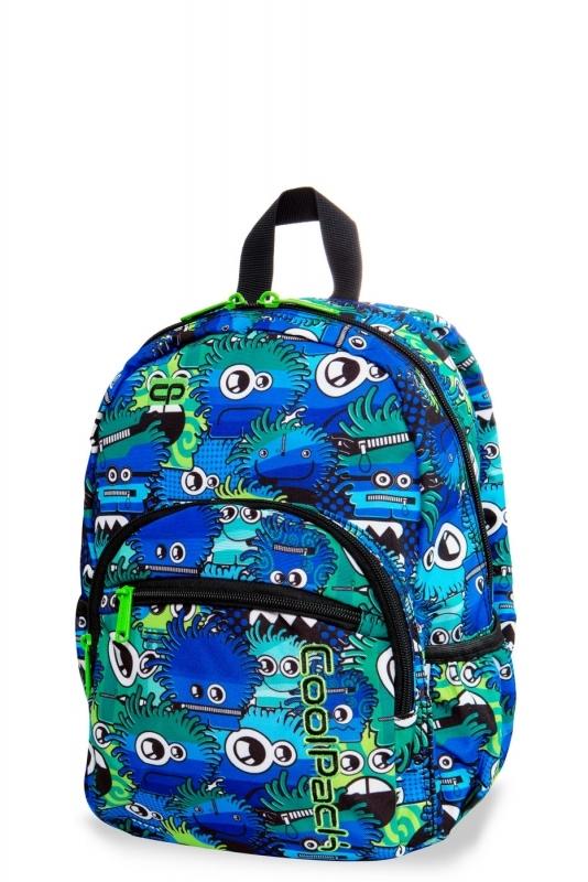 Plcak dziecięcy mini Coolpack Wiggly Eyes Blue