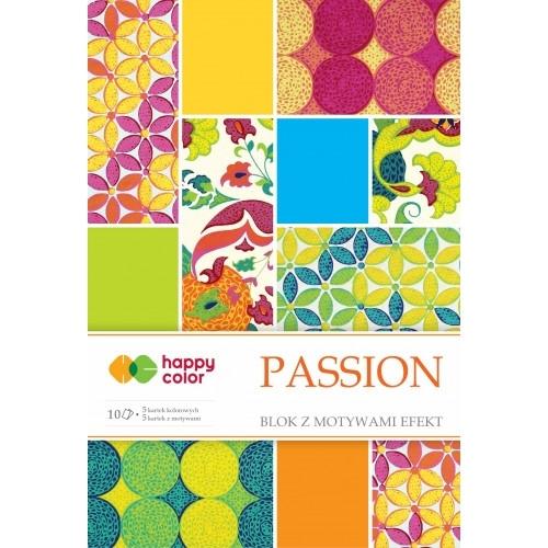 Happy Color blok z motywem Passion A4 10 ark