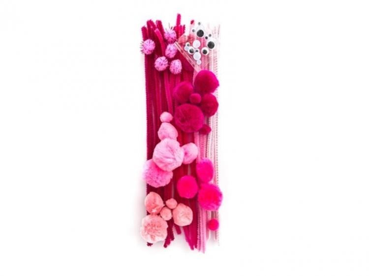 Zestaw startowy kreatywny różowy A`80 Dalprint