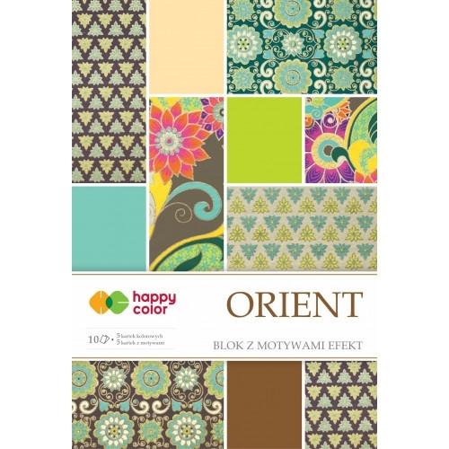 Happy Color blok z motywem Orient A4 10 ark