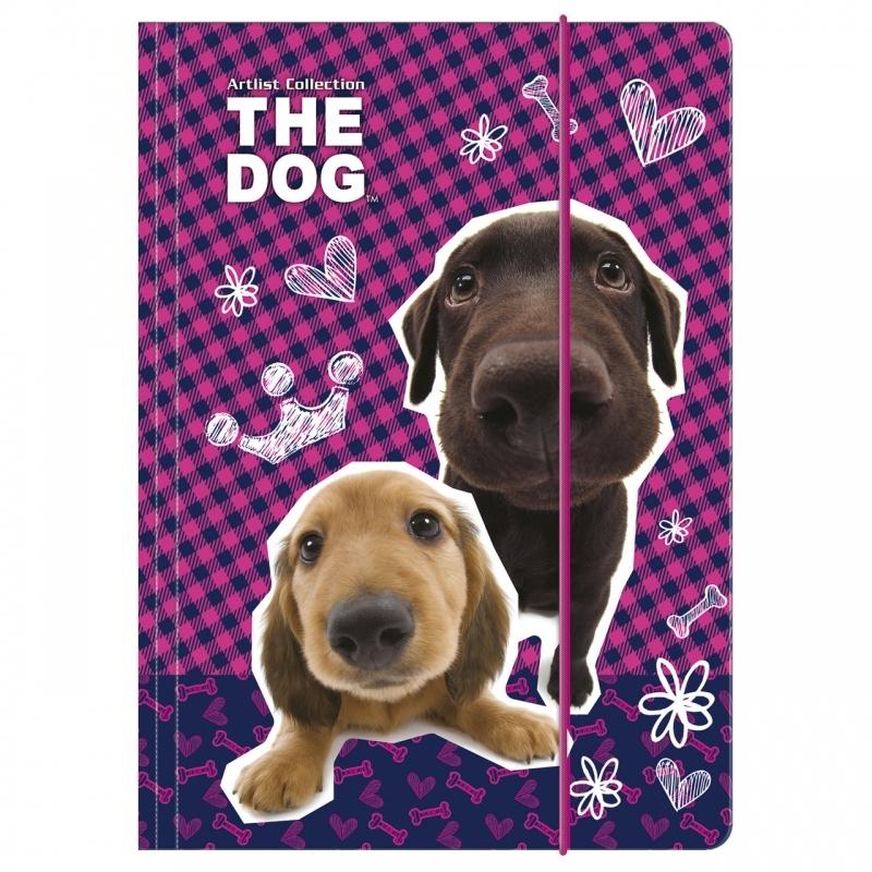 Teczka na gumkę A4 The Dog Derform