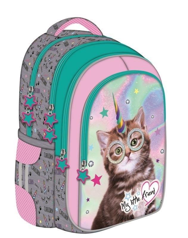 Plecak szkolny My Little Friend Catcorn St. Majews