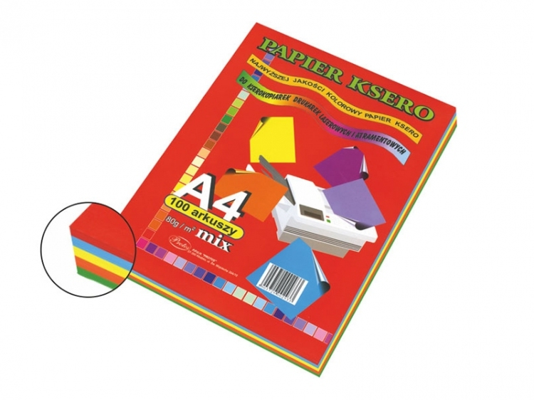 Papier ksero mix intensywny  A4/100 80g