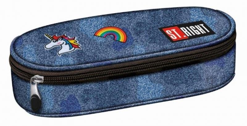 Saszetka jednokomorowa St. Right Jeans&Badges  PC1