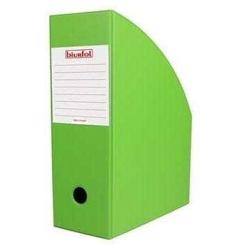Pojemnik na czasopisma 10cm zielony Biurfol